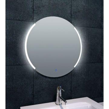 Wiesbaden Round spiegel met LED-verlichting dimbaar 60 cm