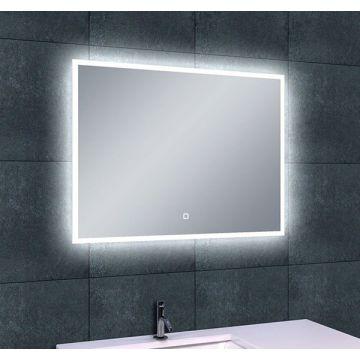 Wiesbaden Quatro spiegel met LED-verlichting en verwarming 80x60 cm