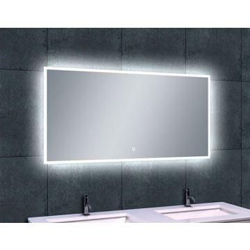 Wiesbaden Quatro spiegel met dimbare LED-verlichting en verwarming 120x60 cm