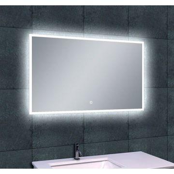 Wiesbaden Quatro spiegel met LED-verlichting en verwarming 100x60 cm
