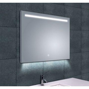 Wiesbaden Ambi One spiegel met LED-verlichting en verwarming 80x60 cm
