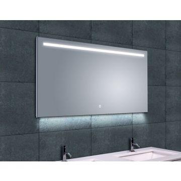 Wiesbaden Ambi One spiegel met LED-verlichting en verwarming 120x60 cm