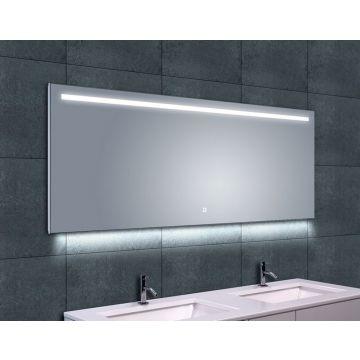 Wiesbaden Ambi One spiegel met LED-verlichting en verwarming 160x60 cm