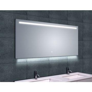 Wiesbaden Ambi One spiegel met LED-verlichting en verwarming 140x60 cm