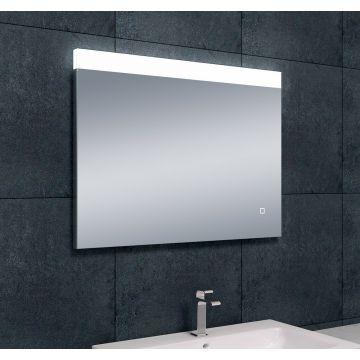 Wiesbaden Single dimbare LED condensvrije spiegel 80x60 cm