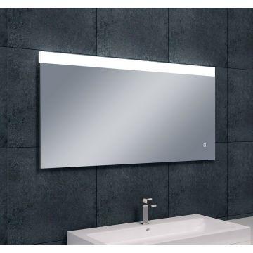 Wiesbaden Single condensvrije spiegel 120x60 cm met dimbare LED-lamp