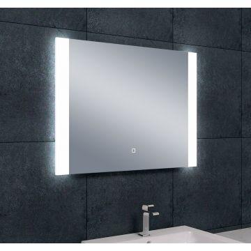 Wiesbaden Sunny dimbare LED condensvrije spiegel 80x60 cm