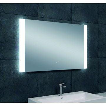 Wiesbaden Sunny dimbare LED condensvrije spiegel 100x60 cm