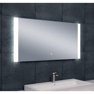 Wiesbaden Sunny dimbare LED condensvrije spiegel 120x60 cm