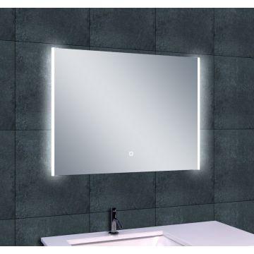 Wiesbaden Duo spiegel met LED-verlichting en verwarming 80x60 cm