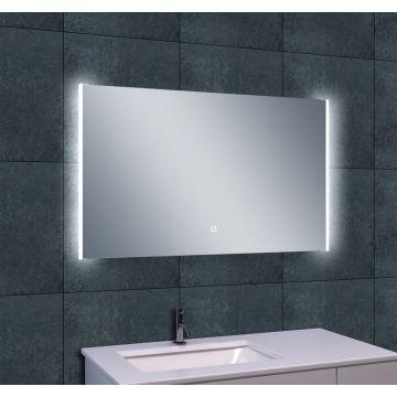 Wiesbaden Duo spiegel met LED-verlichting en verwarming 100x60 cm