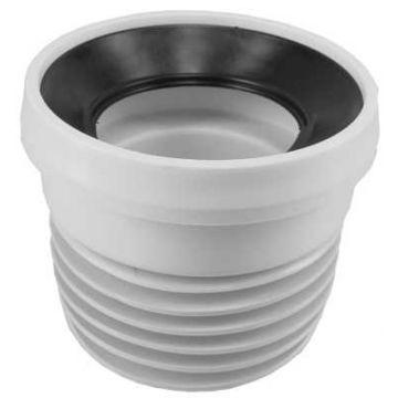 Sub toilet-aansluitstukken 110x100 recht, wit