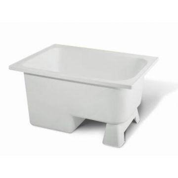 Sub zitbad 103x65x52 cm, wit