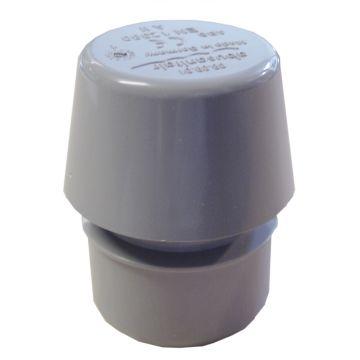 Sub abu afvoerontluchter 50 mm, PVC
