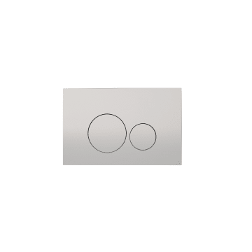 Sub 012 bedieningsplaat, zilver