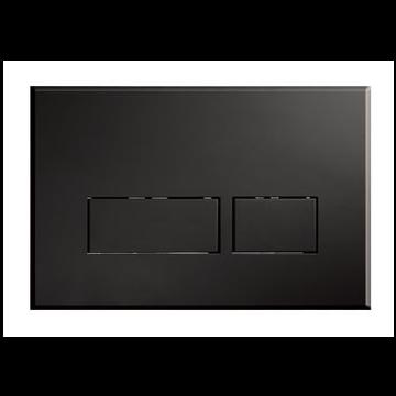 Sub 012 bedieningsplaat, mat zwart