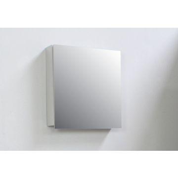 Sub Online spiegelkast met 1 deur en binnenspiegel 60 x 57 x 14 cm, grijs
