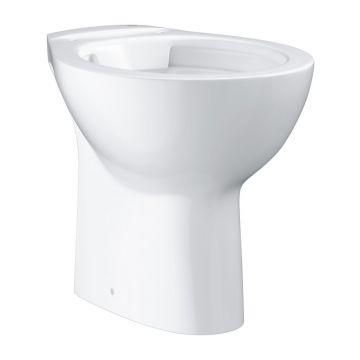 GROHE Bau Ceramic staand toilet randloos AO (met bevestigingsset), Alpine wit