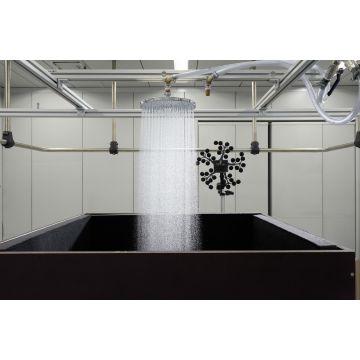 Hansgrohe Raindance S PowderRain hoofddouche met plafondaansluiting, chroom