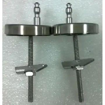 Guo Elite sc scharnierset voor closetzitting, stainless steel