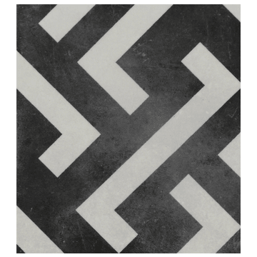 Sub 1742 keramische patchwork tegel 22,3x22,3 cm, signac
