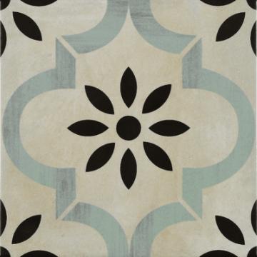 Sub 1742 keramische patchwork tegel 22,3x22,3 cm, seurat