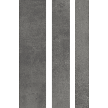 Sub 1747 strokenmix a 5 stuks, donker grijs