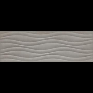 Sub 1749 decortegel 22x66,2 cm, lava struttura 3d, grijs