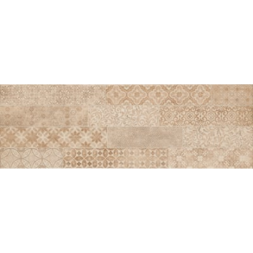 Sub 1749 keramische decortegel 22x66,2 cm, Earth-Sand (bruin)