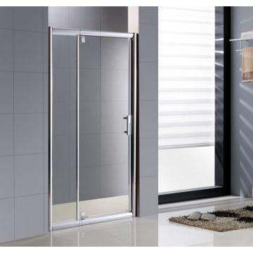 Sub Passe Partout draaideur 120 x 200 cm, veiligheidsglas en inox deurgreep