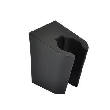 Wiesbaden handdouchehouder, mat zwart