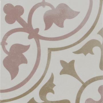 Sub 1742 keramische patchwork tegel 22,3x22,3 cm, corot