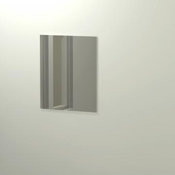 Sub 468 spiegel 60x70 cm, aluminium