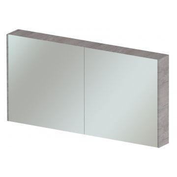 Sub 404 spiegelkast 120x70 cm, lancelot grey