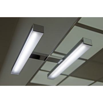 Sub 400 LED-verlichting 28 cm 6W, chroom