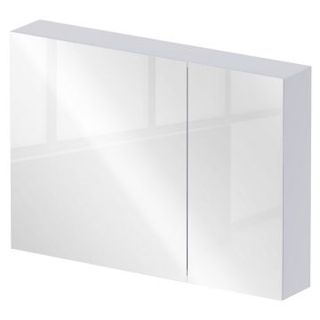Sub 436 spiegelkast 90x70 cm, mat wit