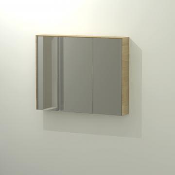 Sub 416 spiegelkast 90x70 cm, eiken naturel