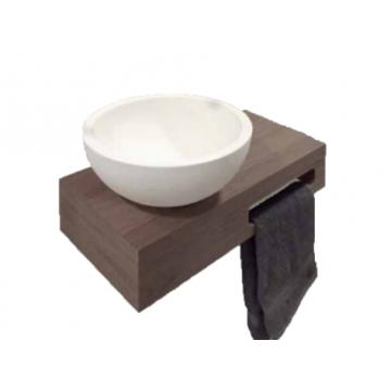 Sub fonteinkast, eiken grey wash
