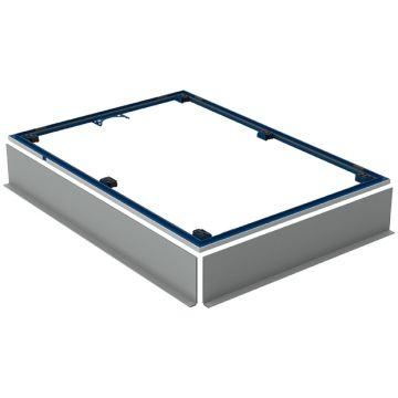 Geberit Setaplano montageframe 6 poten 120 x 90 cm. blauw