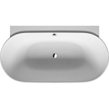 Duravit Luv bad back-to-wall 185x95 cm met naadloze ommanteling, wit