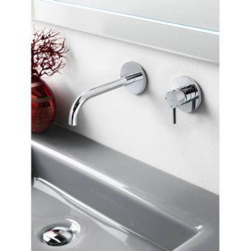 Hotbath Laddy inbouwwastafelkraan met 3+3 systeem, chroom