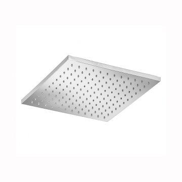 Hotbath Mate hoofddouche vierkant 30 cm, chroom