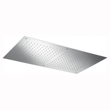 Hotbath Mate inbouw hoofddouche rechthoekig 50x90 cm, chroom