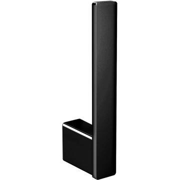 Emco Loft reserverolhouder 17 x 2,4 x 5,6 cm, zwart
