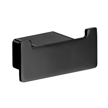 Emco Loft dubbele handdoekhaak 3 x 7 x 3,3 cm, zwart