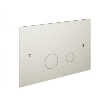 Hotbath Cobber bedieningspaneel geschikt voor Geberit UP320 17 x 25 x 0,4 cm, geborsteld nikkel