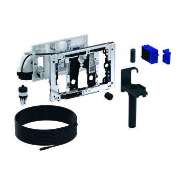 Geberit DuoFresh module met geurzuivering en toiletstickhouder, handmatige activering, geschikt voor Sigma 12 cm, chroom