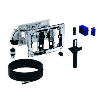 Geberit DuoFresh module met geurzuivering en toiletstickhouder, handmatige activering, geschikt voor Sigma 8 cm, antracietgrijs