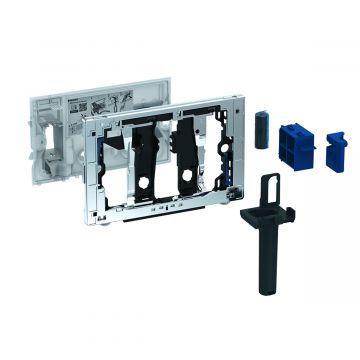 Geberit DuoFresh toiletstickhouder, zonder geurzuivering, geschikt voor Sigma 8 cm, chroom