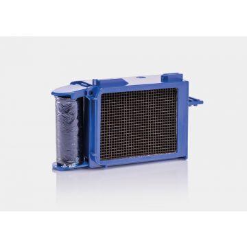 Geberit DuoFresh module met geurzuivering en toiletstickhouder, handmatige activering, geschikt voor Sigma 12 cm, antracietgrijs
